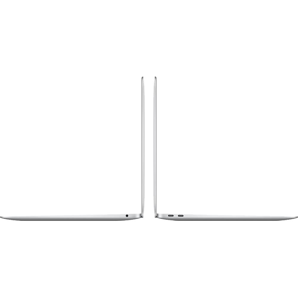 Laptop Macbook Air 13'' M1 2020, MGN93, 256GB SSD, 8GB RAM, CPU 8-core, Touch ID sensor, DisplayPort, Thunderbolt 3, Tastatura layout INT, Silver (Argintiu)