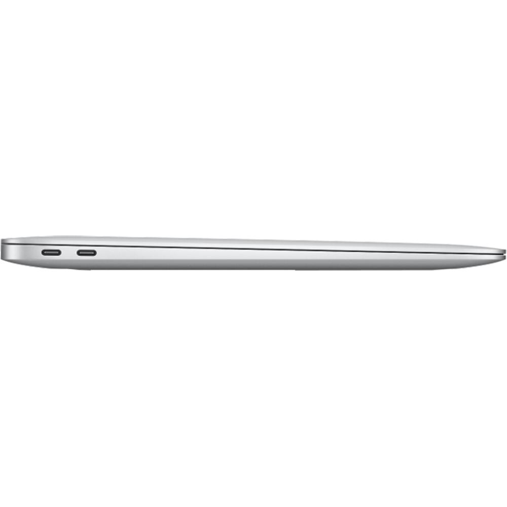 Laptop Macbook Air 13'' M1 2020, MGNA3, 512GB SSD, 8GB RAM, CPU 8-core, Touch ID sensor, DisplayPort, Thunderbolt 3, Tastatura layout INT, Silver (Argintiu)
