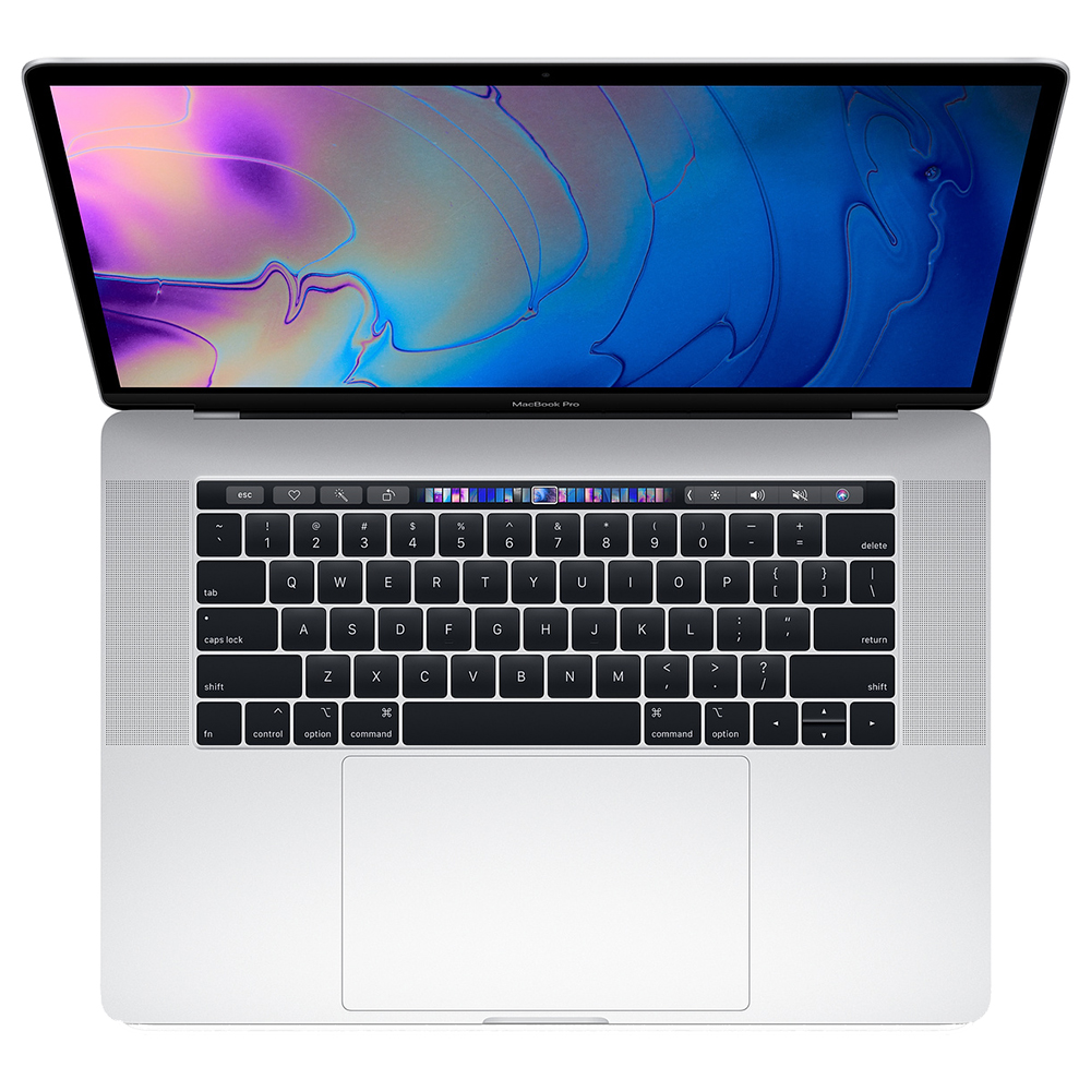 MacBook Pro 15 2019   Argintiu 256GB With Touch Bar