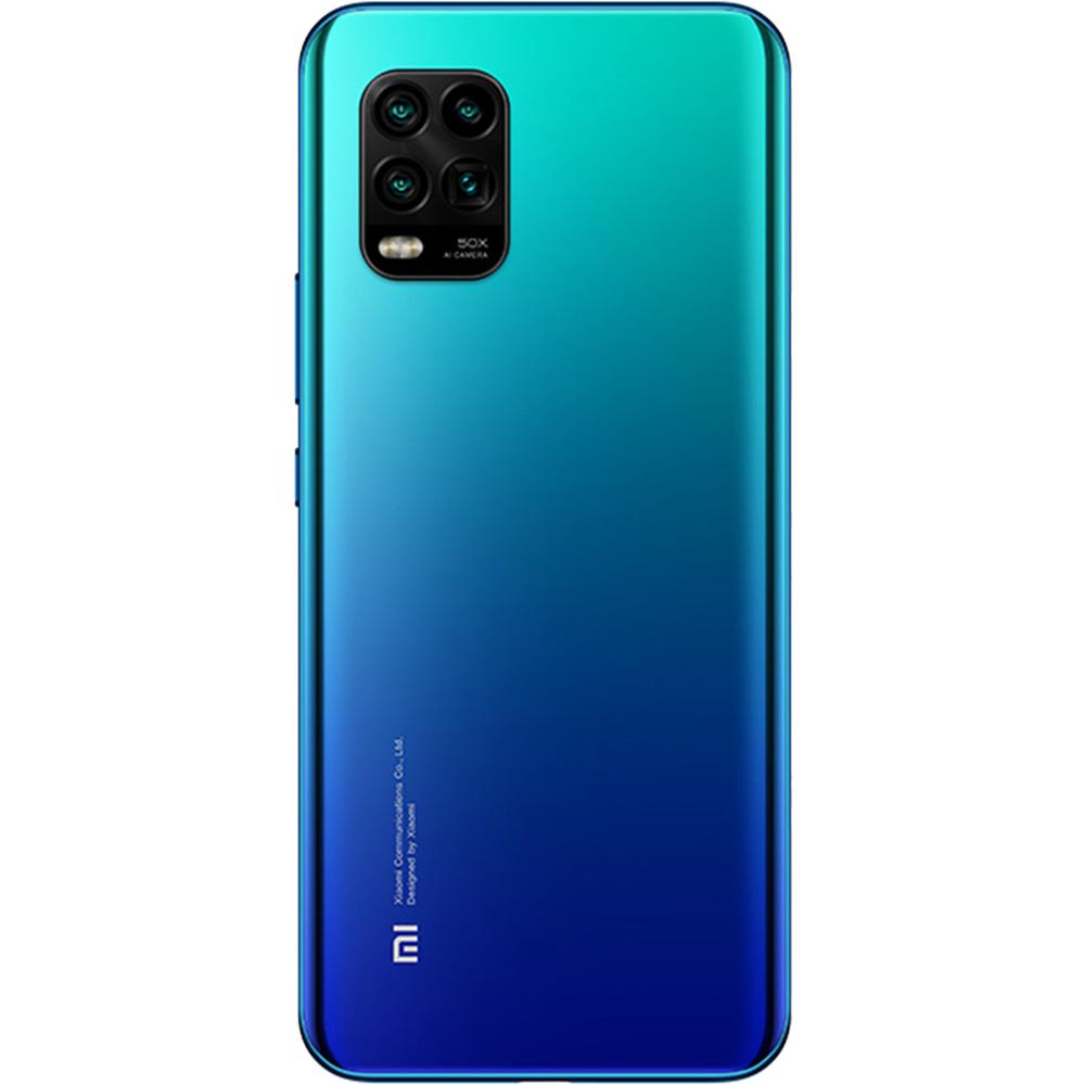 Mi 10 Lite Dual Sim Fizic 128GB 5G Albastru Aurora Blue 8GB RAM