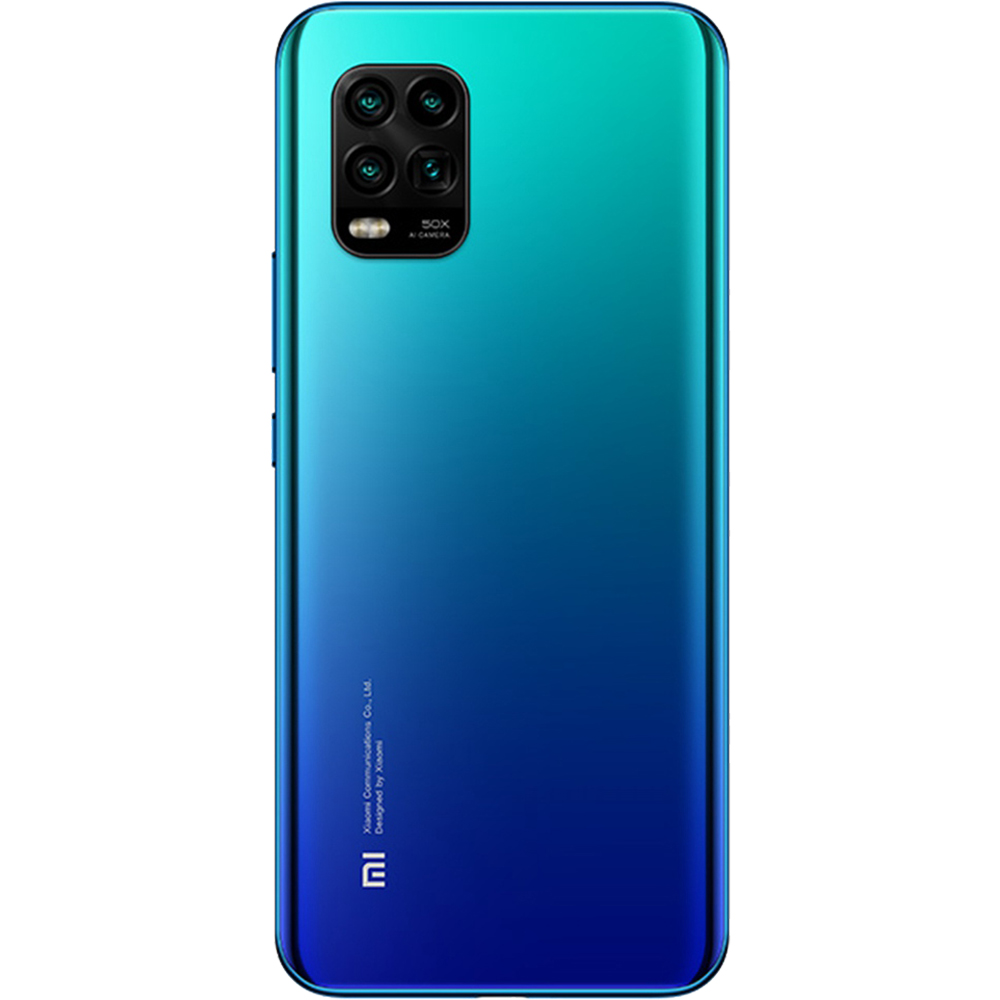 Mi 10 Lite Dual Sim Fizic 256GB 5G Albastru Aurora Blue 8GB RAM