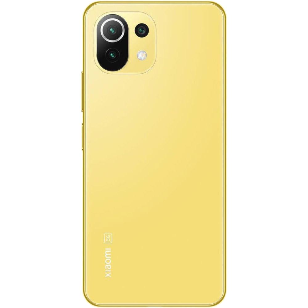Mi 11 Lite Dual Sim Fizic 128GB 5G Galben Citrus Yellow 6GB RAM