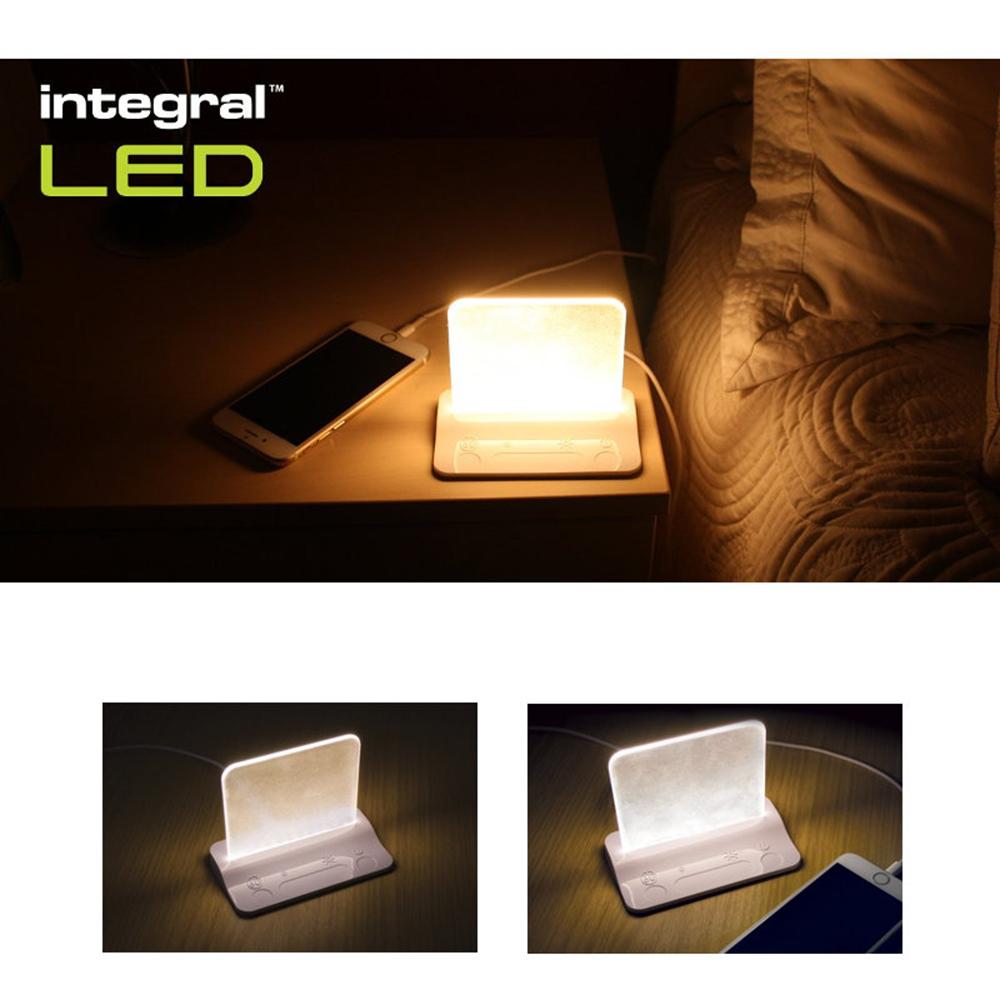 Lampa Led Cu USB Alb