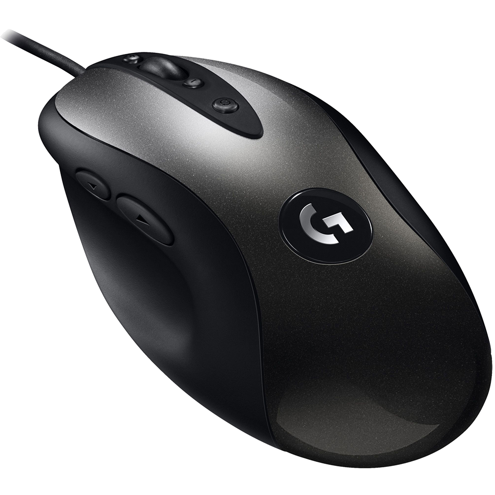 Mouse Cu Fir MX518 Gaming, Hero 16K, 400 IPS, 16.000 DPI, 8 Butoane Programabile, Negru