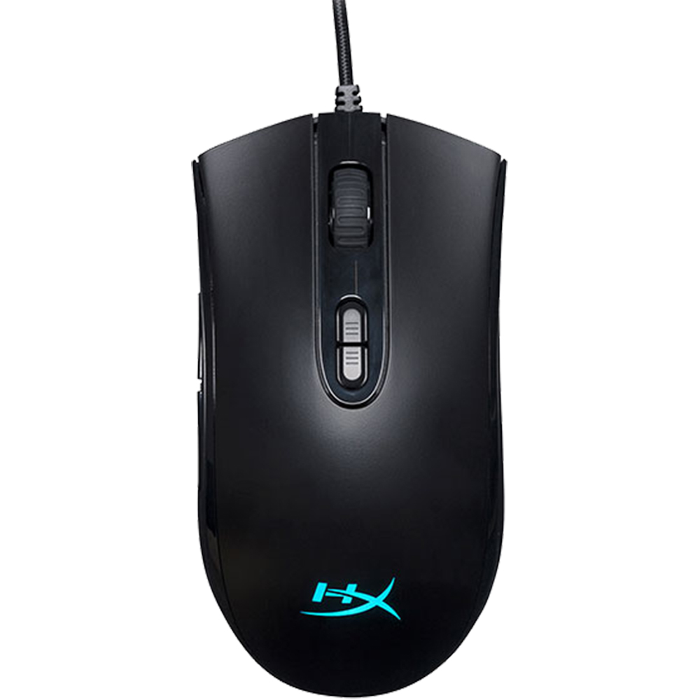 Mouse Gaming Cu Fir Pulsefire Core HX-MC004B, 6200 DPI, 7 Butoane Programabile, RGB, Negru