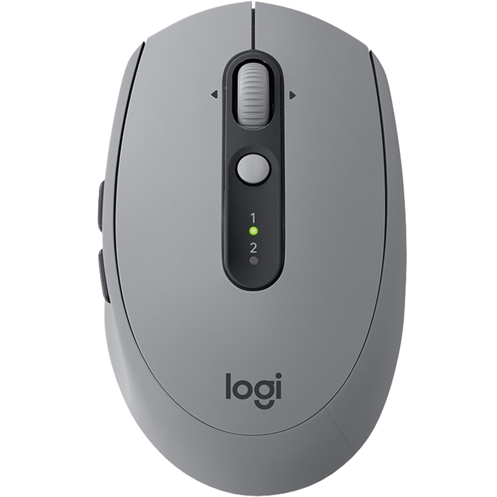 Mouse Bluetooth M590 Silentios, 1.000 DPI, 7 Butoane, Logitech FLOW, Gri