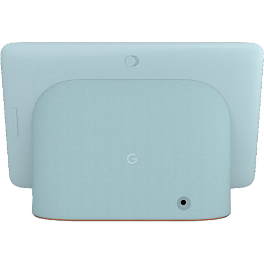 Boxa Inteligenta Nest Hub Aqua, Google Asisstant, Ambient Equalizer, Rama Digitala, Microfon, Control Vocal, Albastru