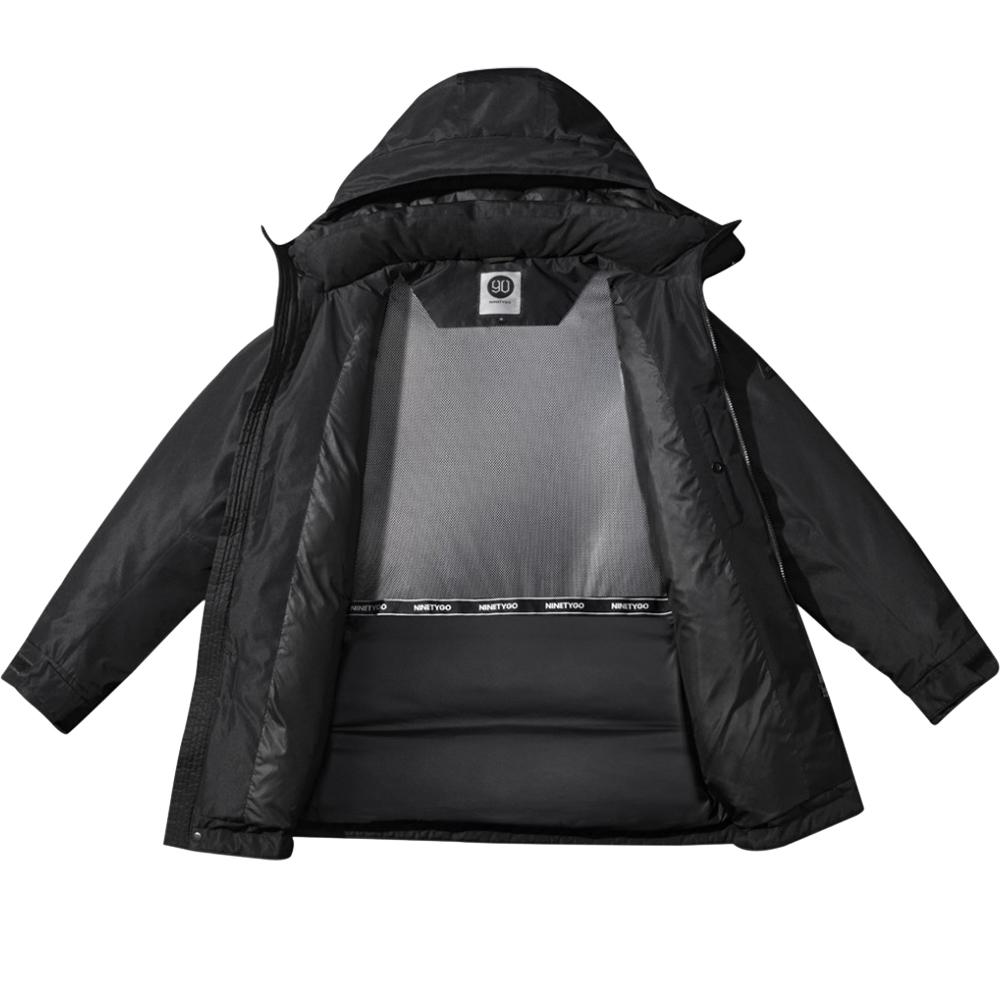 NINETYGO Temperature Control Down Jacket M Negru