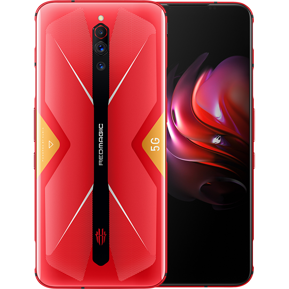 Red Magic Dual Sim Fizic 128GB 5G Rosu Hot Rog Red 8GB RAM