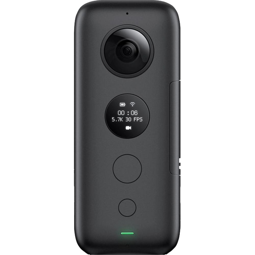 One X Action Camera Video Si Foto Panoramic 360  Negru