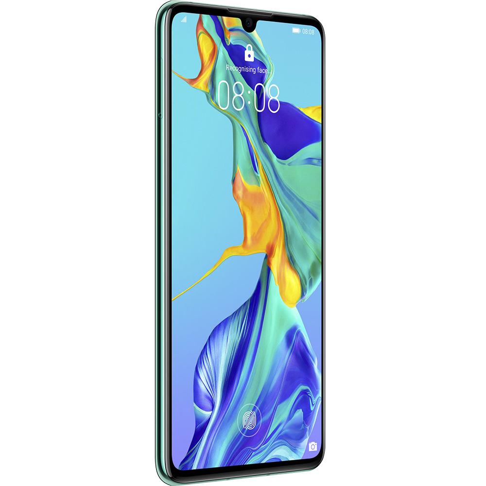 P30 Dual Sim Fizic 128GB LTE 4G Albastru Aurora 8GB RAM