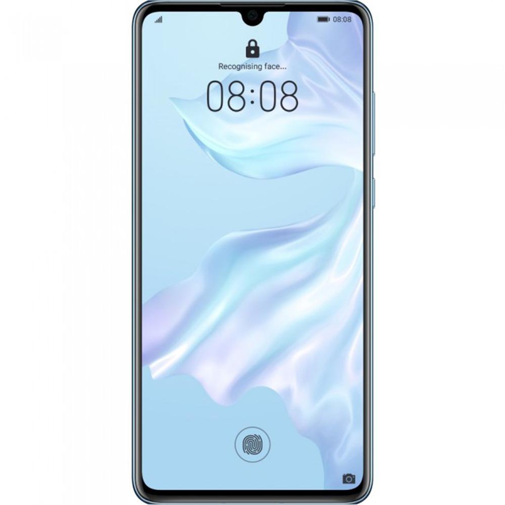 P30 Dual Sim Fizic 128GB LTE 4G Albastru Breathing Crystal 8GB RAM
