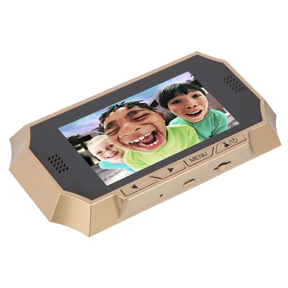 Peephole Sonerie Cu Camera Video + Senzor Infrarosu Si Senzor De Miscare