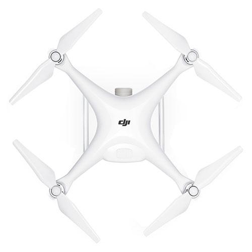 Phantom 4 Pro Drona Alb