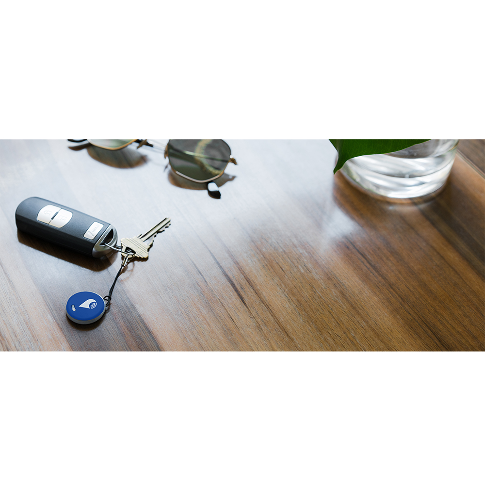 Smart Tag Dispozitiv Bluetooth De Localizare Pentru Copii, Obiecte Si Animale, Albastru