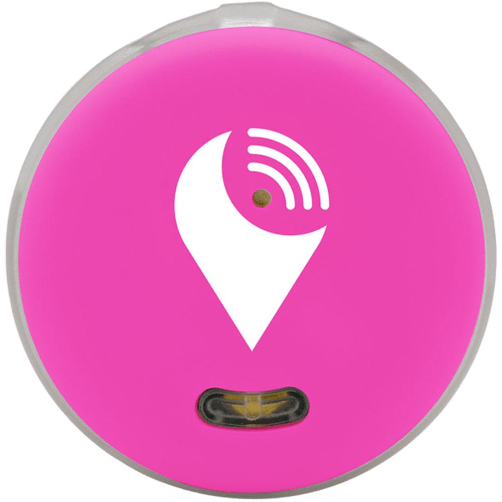 Smart Tag Dispozitiv Bluetooth De Localizare Pentru Copii, Obiecte Si Animale, Roz