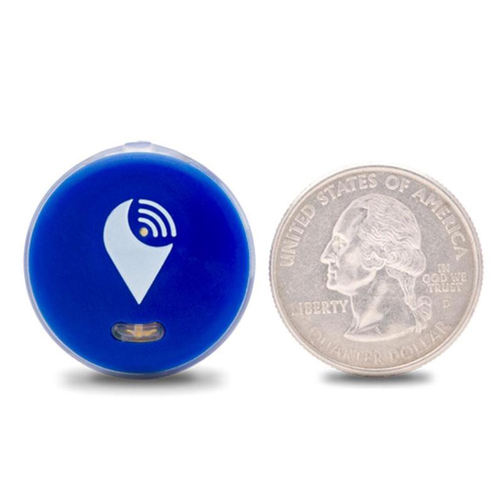 Smart Tag Dispozitiv Bluetooth De Localizare Pentru Copii, Obiecte Si Animale, Violet
