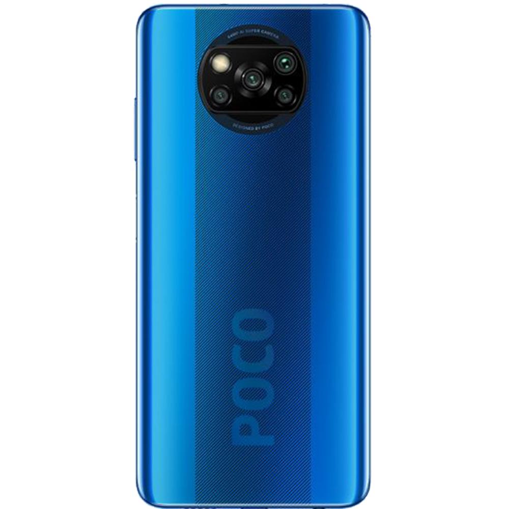 Poco X3 Dual Sim Fizic 128GB LTE 4G Albastru NFC 6GB RAM