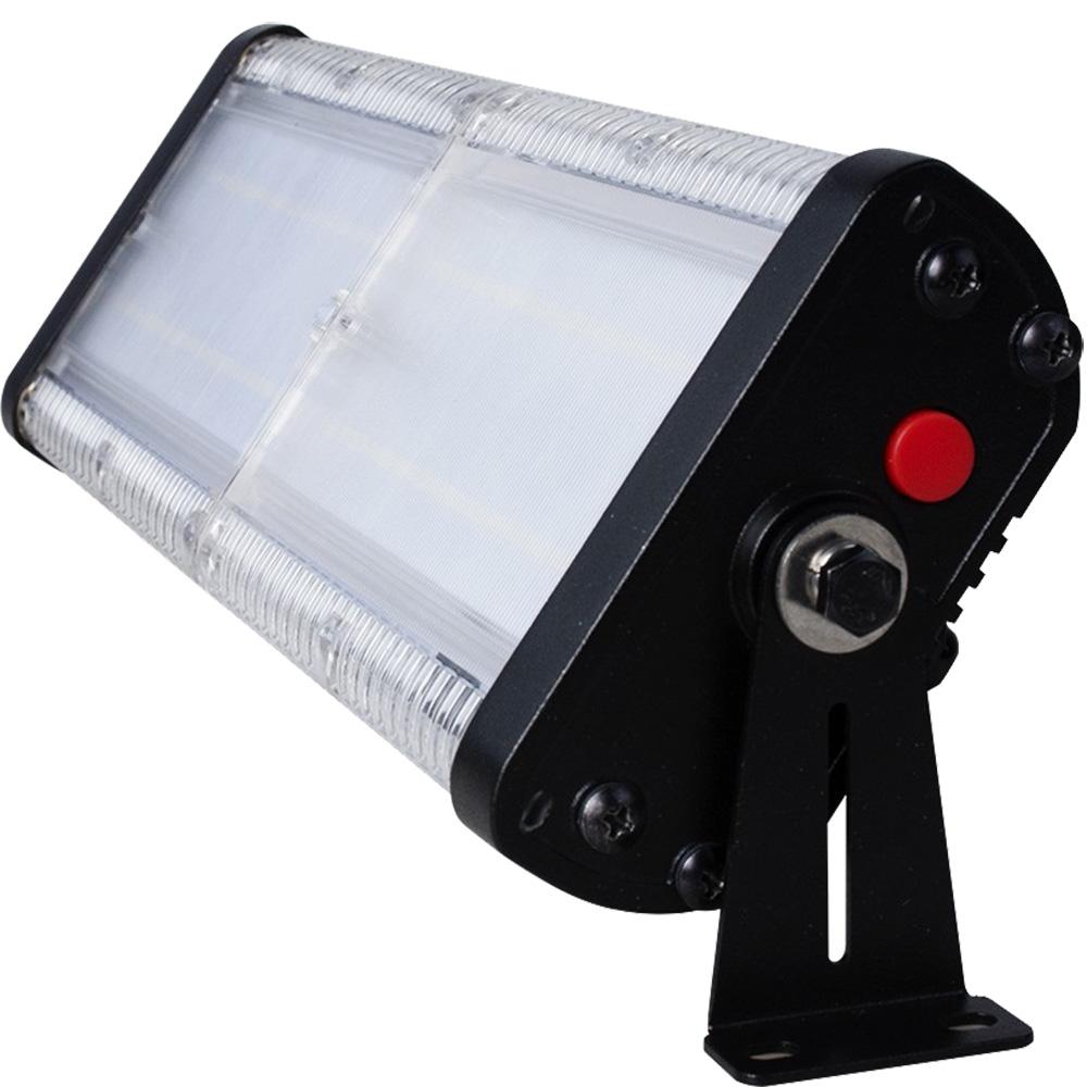 Proiector Cu Incarcare Solara Si Senzor De Miscare 50W