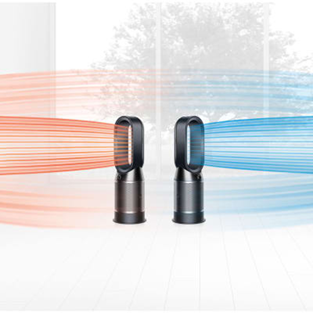 Pure Hot + Cool Link Ventilator Cu Efect De Purificare a Aerului Negru