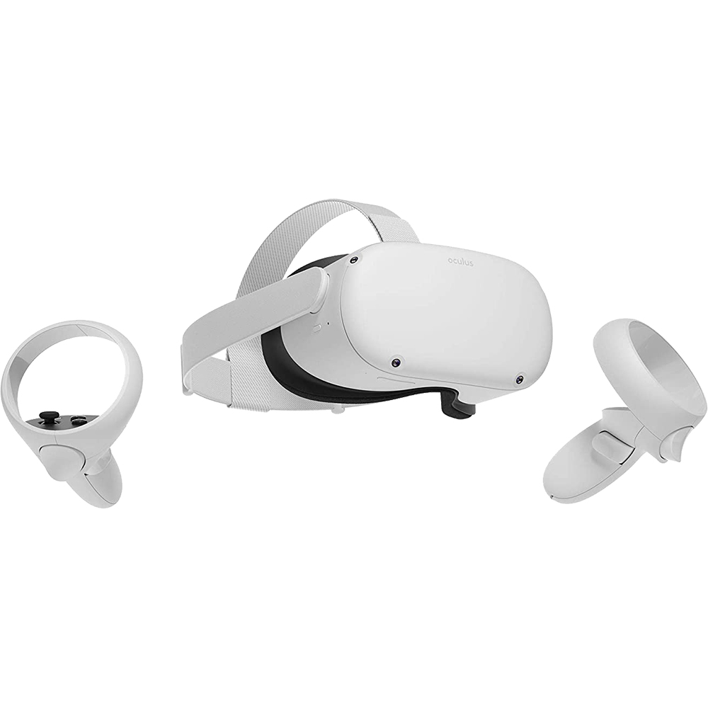 Quest 2 64GB Advanced All-in-one Virtual Reality Headset Alb