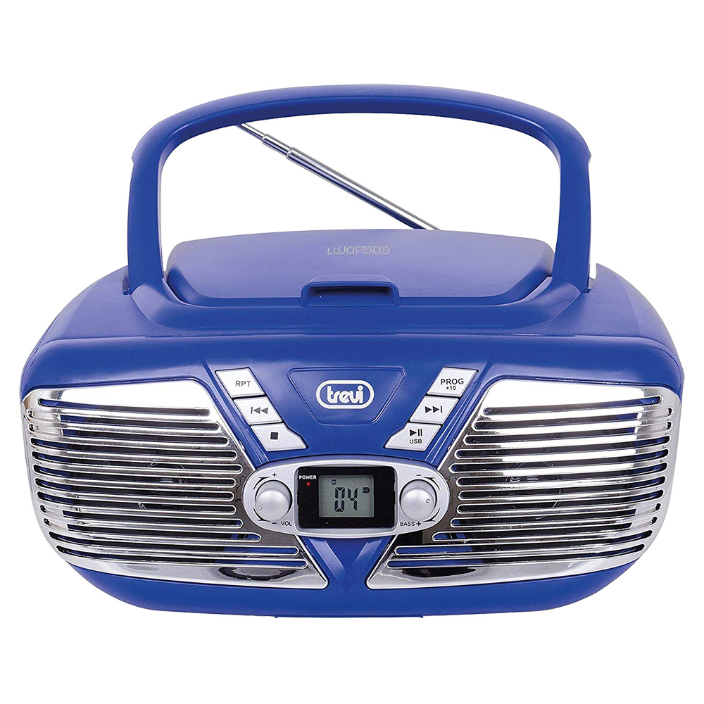 Radio CD Player + USB  Albastru