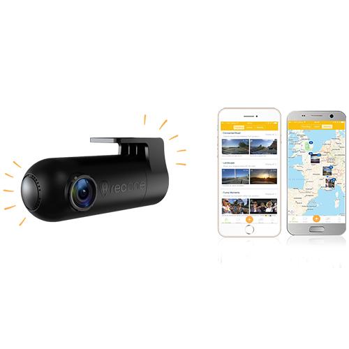 RecOne Camera de Supraveghere Auto Cu Rotatie 150 De Grade, Full HD Si Wi-Fi