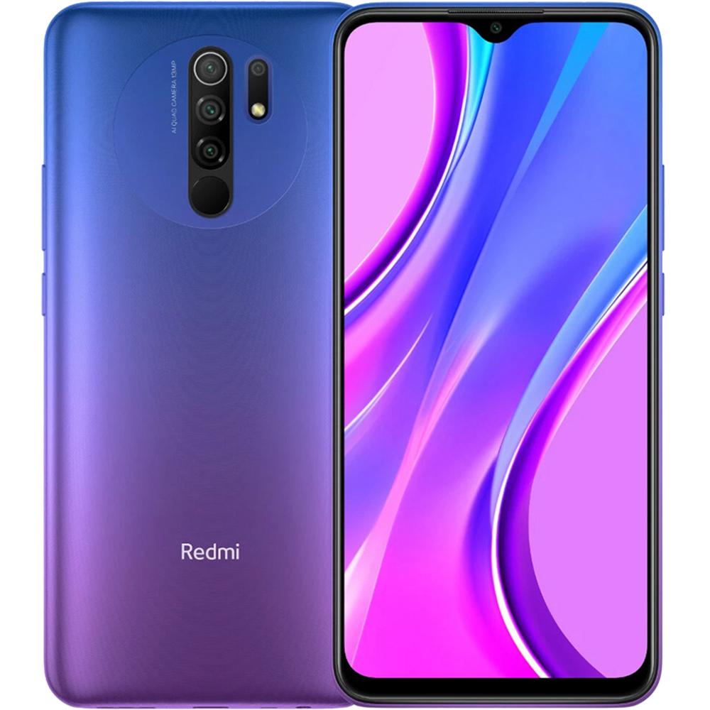 Redmi 9 Dual Sim Fizic 64GB LTE 4G Violet Sunset Purple NFC 4GB RAM
