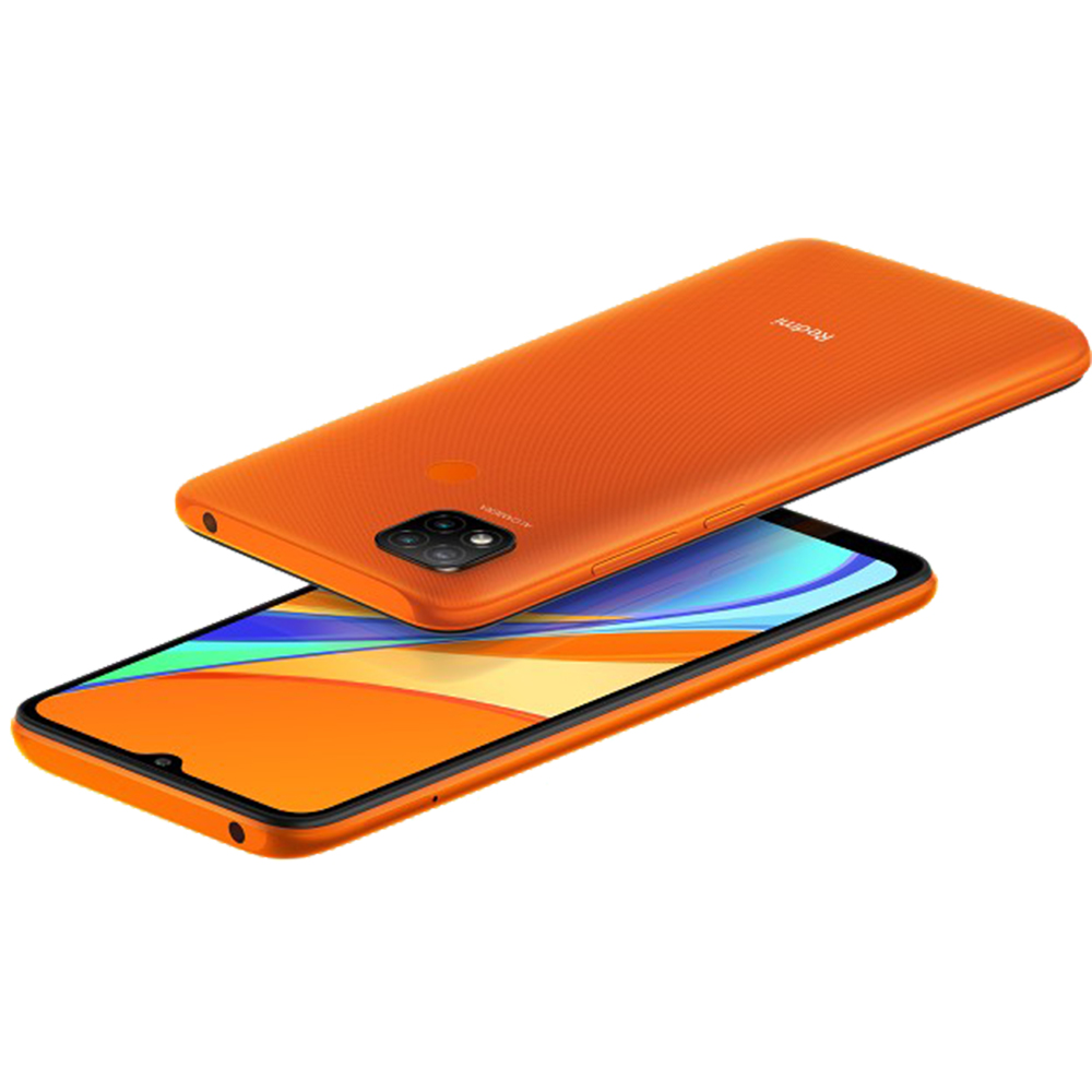 Redmi 9C Dual Sim Fizic 64GB LTE 4G Portocaliu Sunrise Orange NFC 3GB RAM