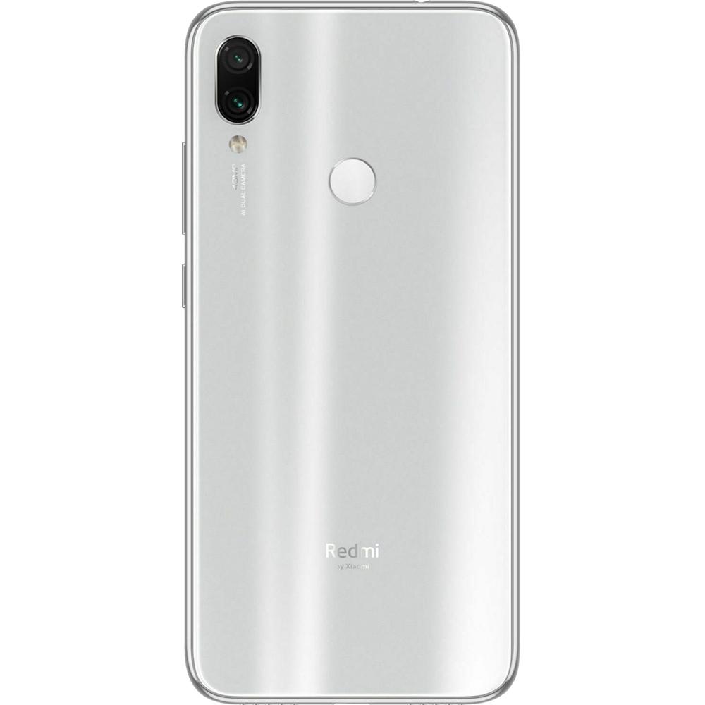 Redmi Note 7 Dual Sim Fizic 128GB LTE 4G Alb Moonlight 4GB RAM