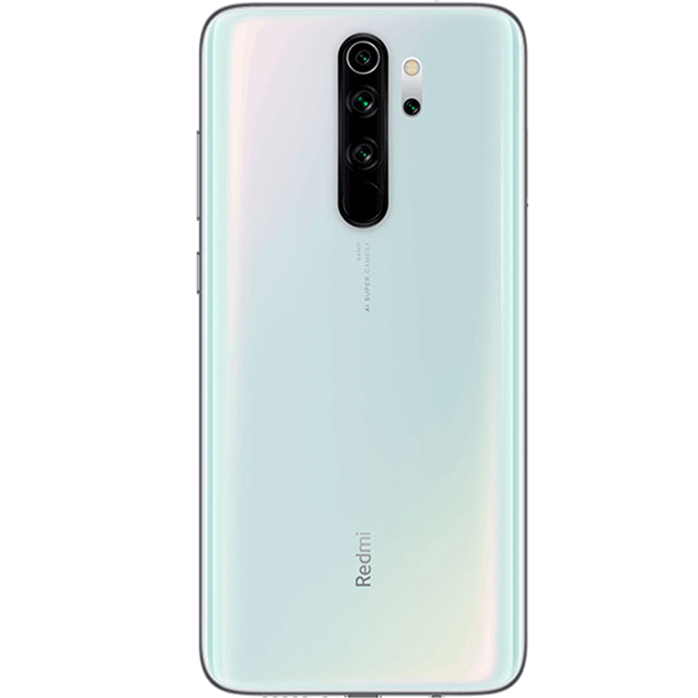 Redmi Note 8 Pro Dual Sim Fizic 128GB LTE 4G Alb Pearl White 6GB RAM