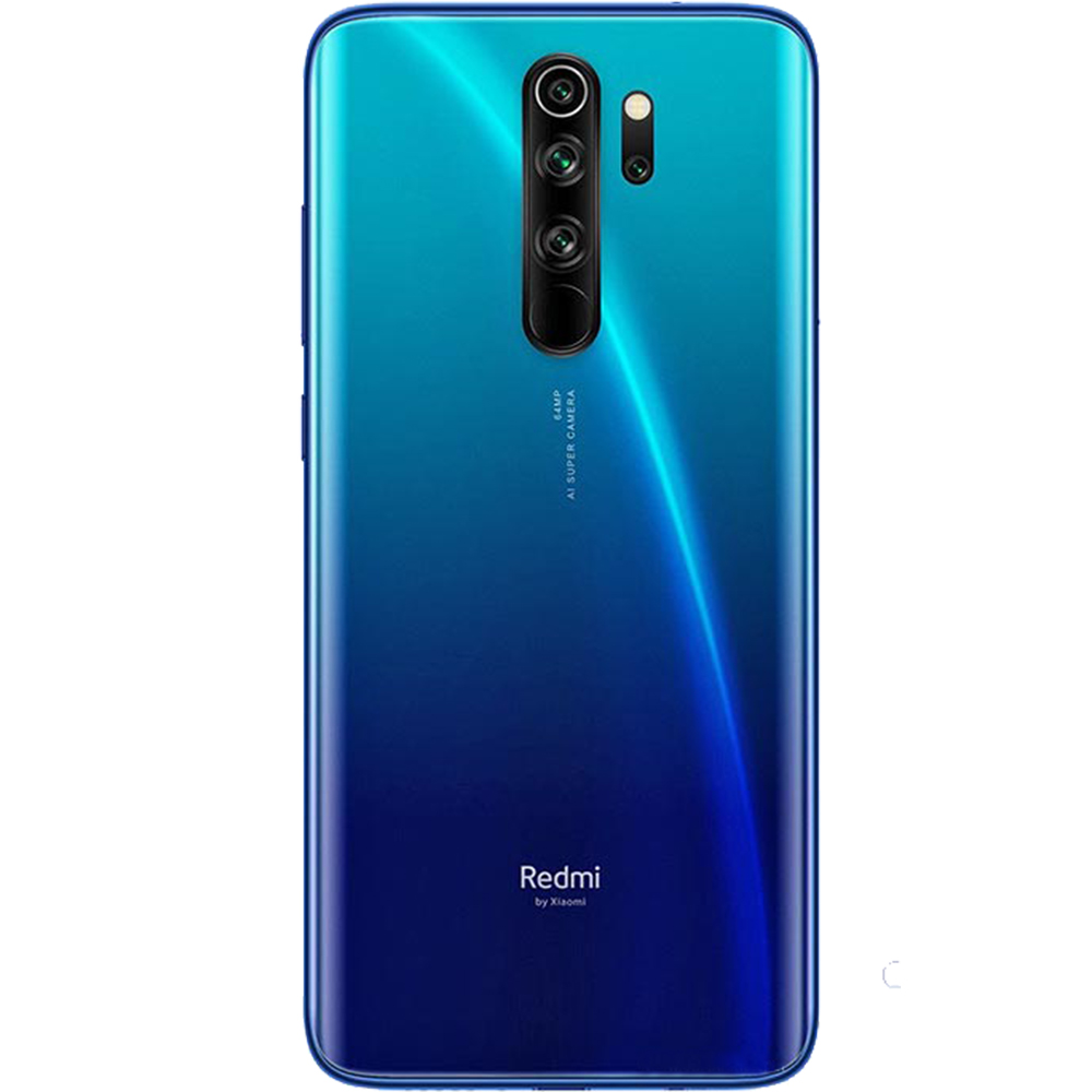 Redmi Note 8 Pro Dual Sim Fizic 64GB LTE 4G Albastru Electric Blue 6GB RAM