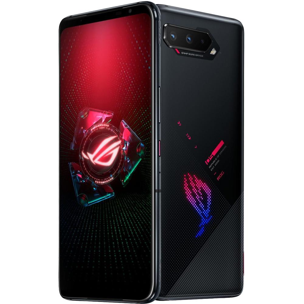 ROG Phone 5 Dual Sim Fizic 256GB 5G Negru Phantom Black 12GB RAM