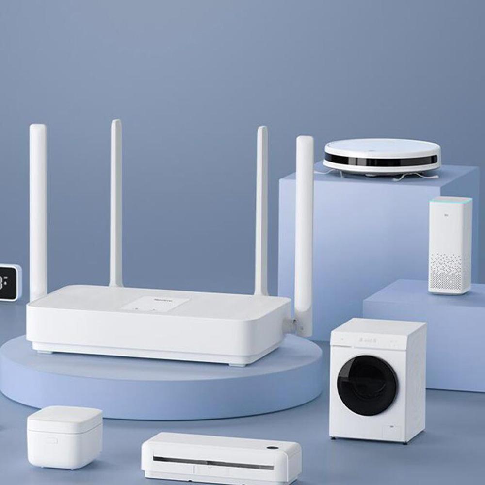 Router Mi AX1800 WiFi 6 Gigabit 2.4GHz 5GHz 5-Core Dual-Band Alb