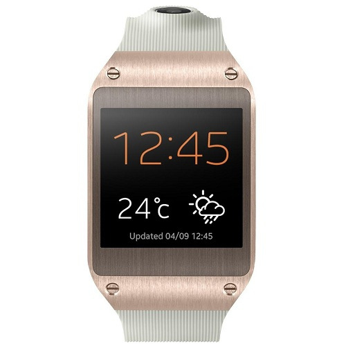 Galaxy gear smartwatch auriu