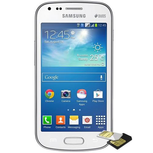 Galaxy s duos dualsim 4gb alb