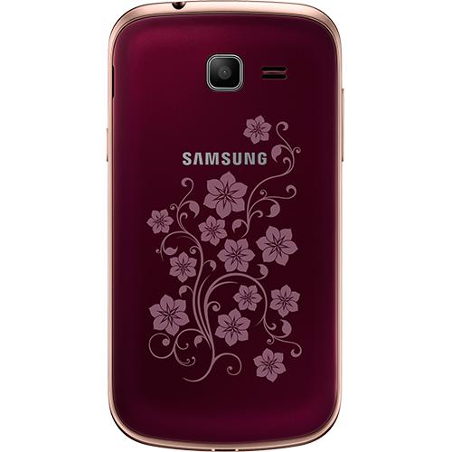 Samsung Galaxy Trend Lite S7390 Red La Fleur