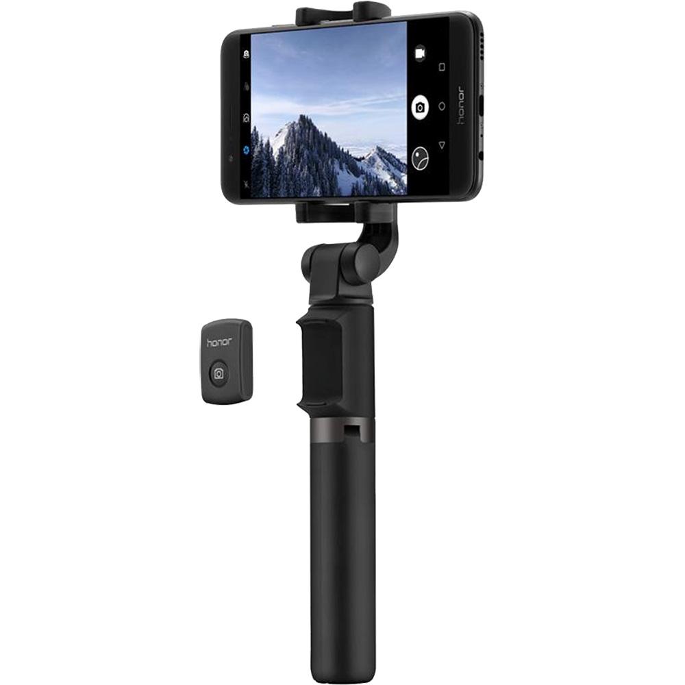 Selfiestick Tripod Bluetooth Negru