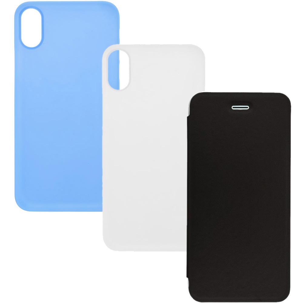 Set Huse Combo1 2+1 Gratis APPLE iPhone X, iPhone Xs