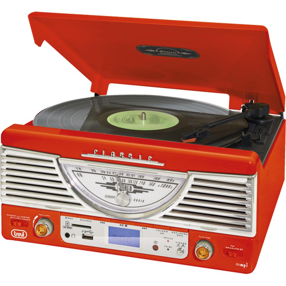 Sistem Audio Clasic Rosu