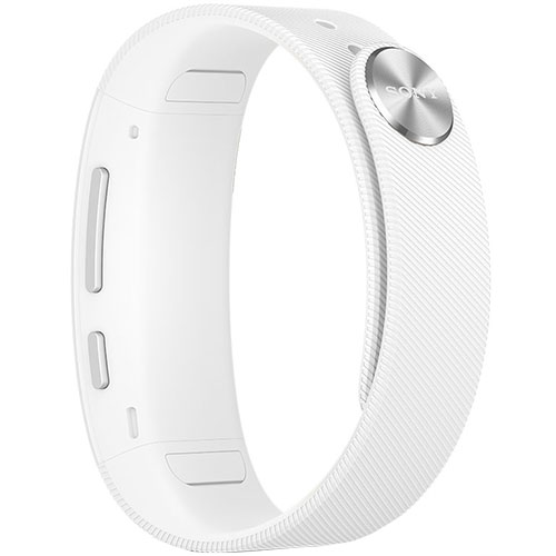 SmartBand Wireless Bratara Fitness Alb