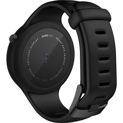 Smartwatch Moto 360 45MM 2nd Gen Sport Silicon Negru