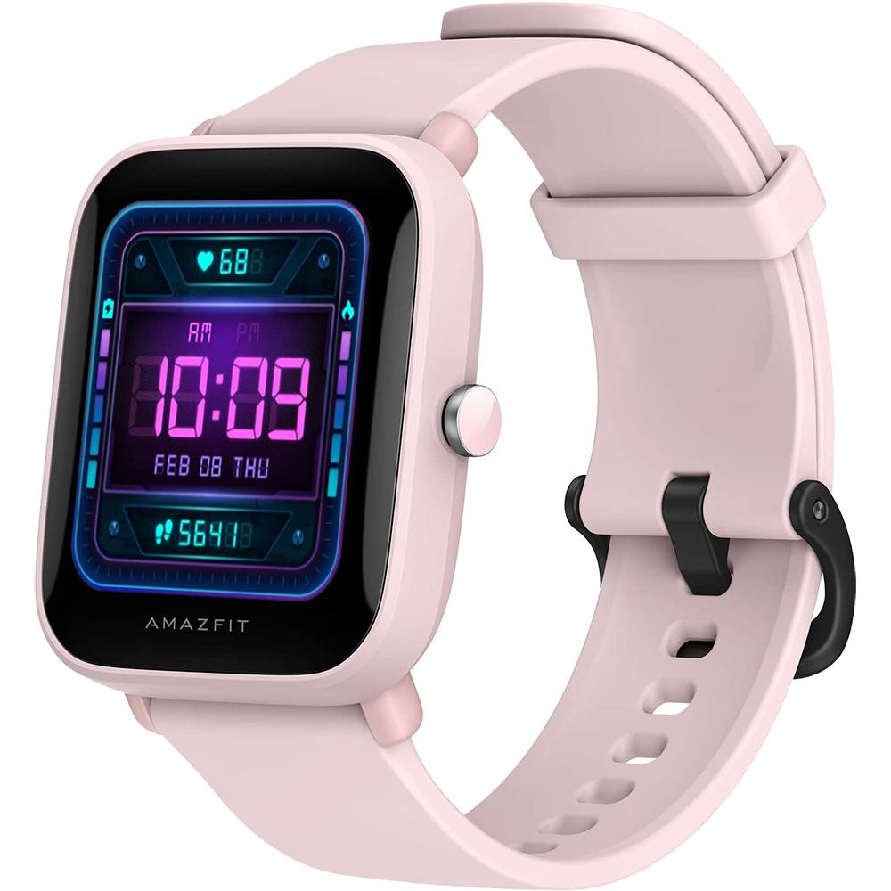 Smartwatch Amazfit Bip U Pro Built in GPS, Blood Oxygen, Heart Rate, Water Resistant Roz