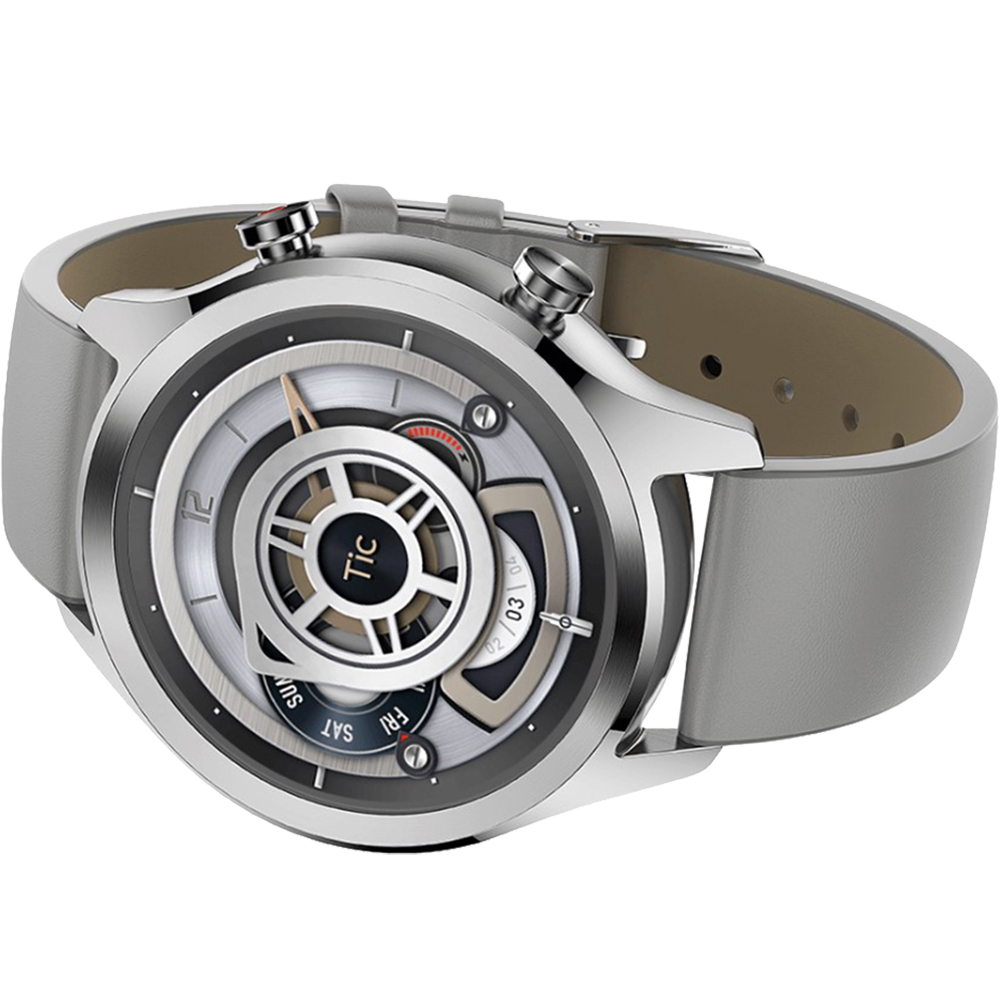 Smartwatch C2 NFC Waterproof Argintiu