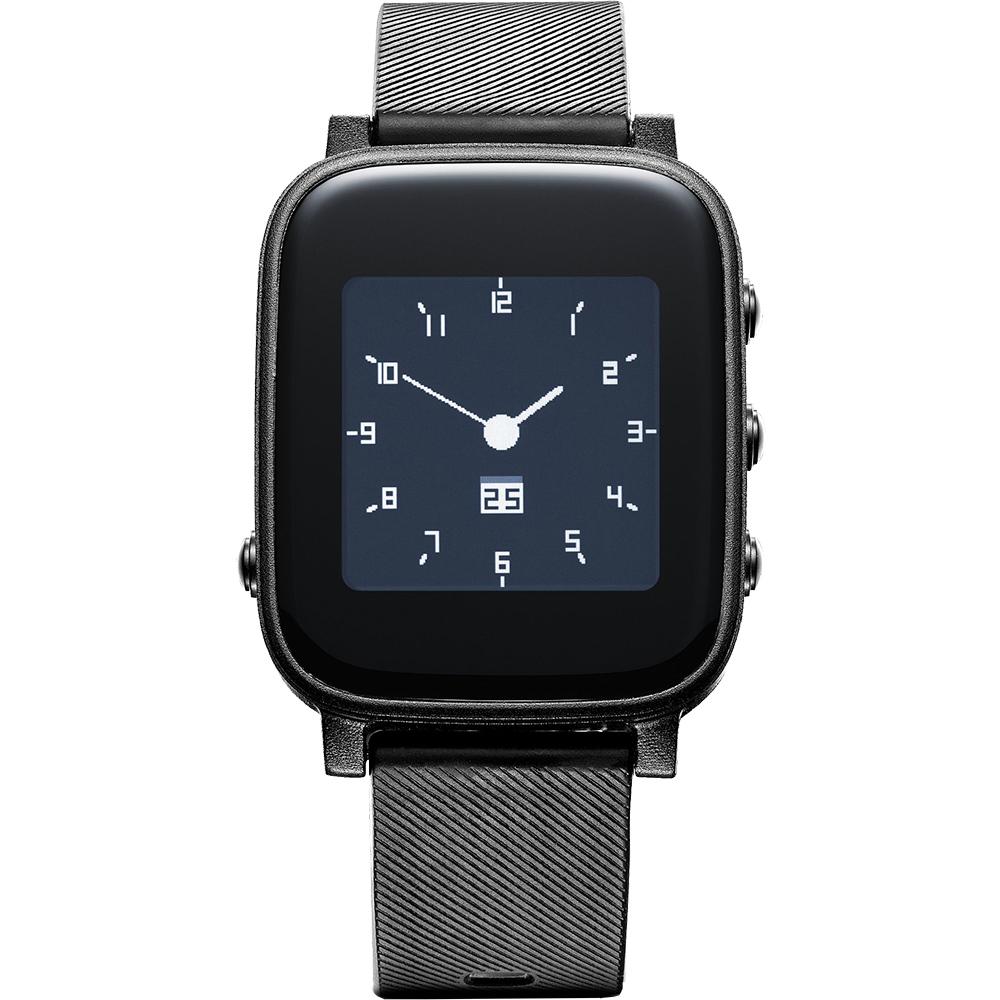 Smartwatch Easy Smart HR Negru