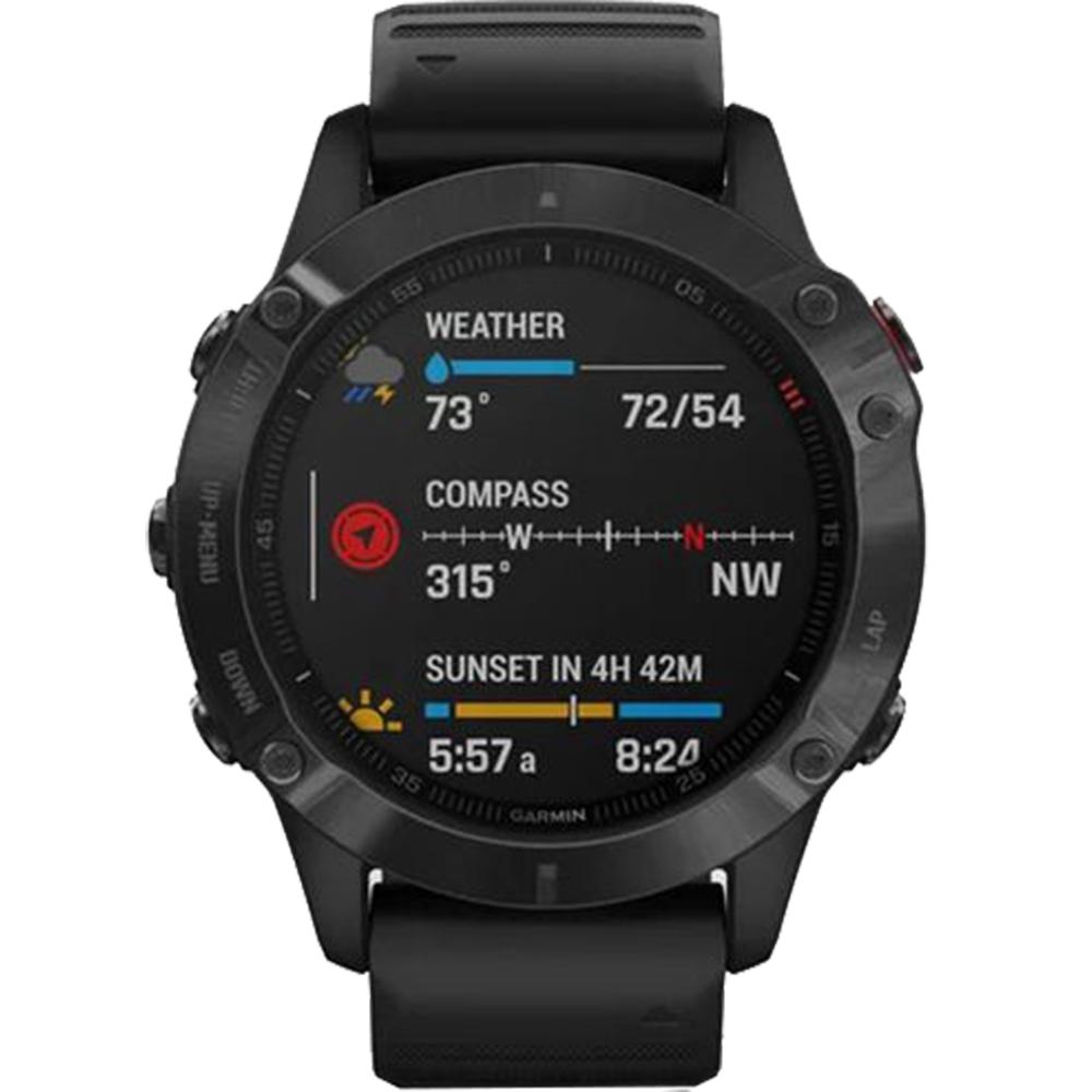 Smartwatch Fenix 6 Pro Negru Si Curea Neagra