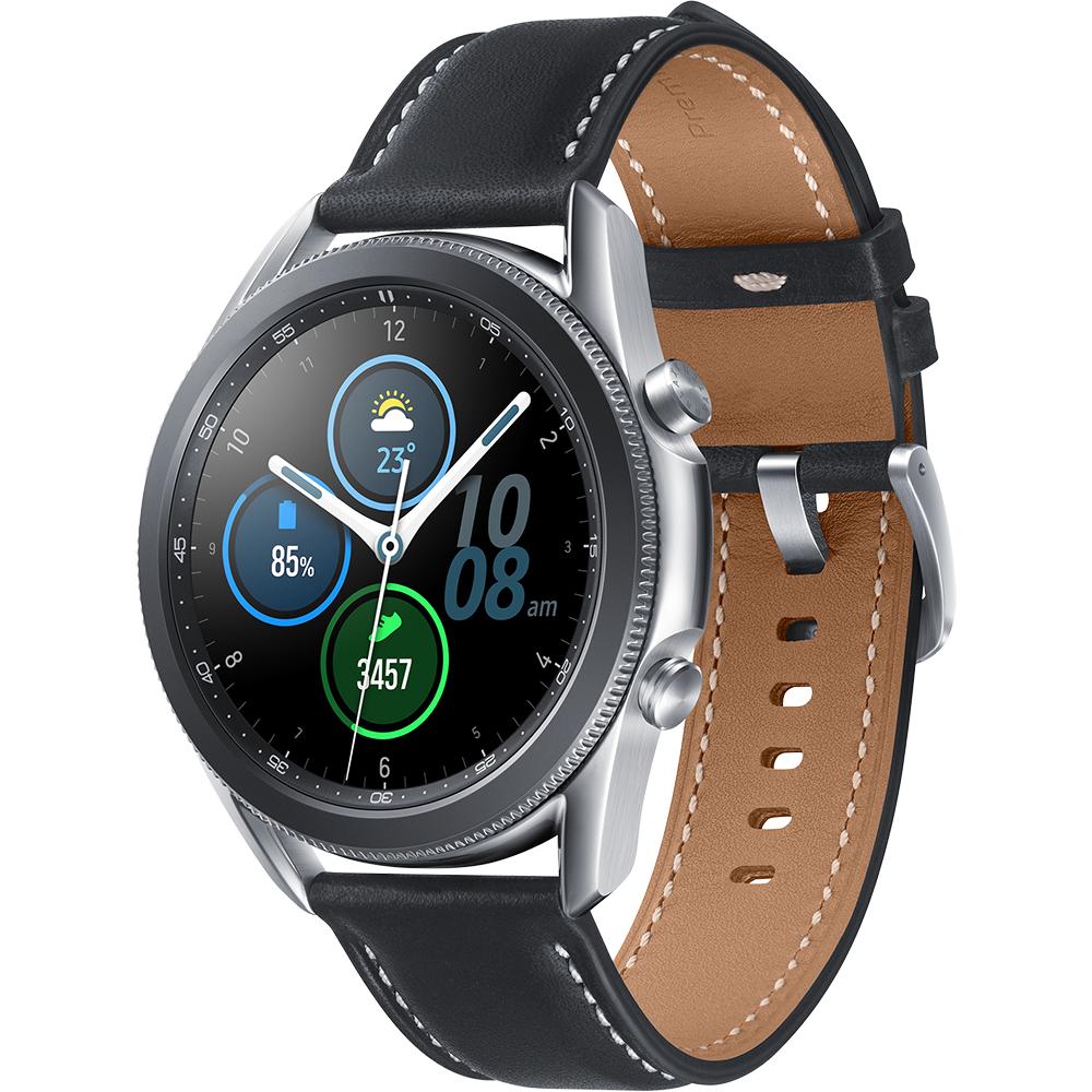 Smartwatch Galaxy Watch 3 Otel Inoxidabil 45mm Mystic Silver Argintiu