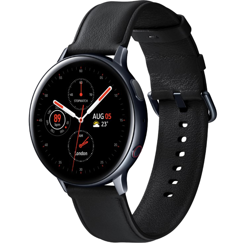 Smartwatch Galaxy Watch Active 2 LTE 40mm Otel Inoxidabil Negru