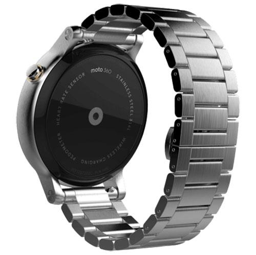 Smartwatch Moto 360 46 MM 2ND Gen Men's Argintiu