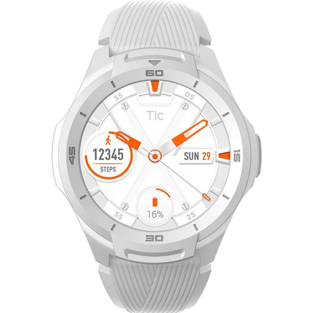 Smartwatch S2 Waterproof cu Monitorizare Ritm Cardiac Alb